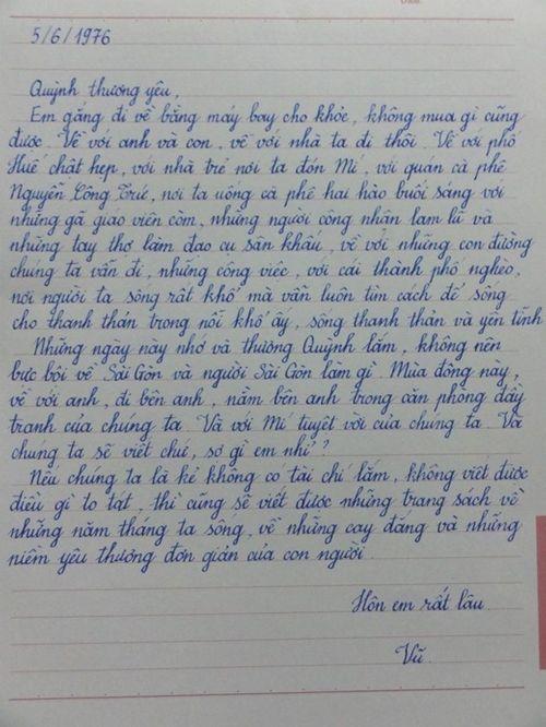 Sự thật về bức thư Lưu Quang Vũ gửi Xuân Quỳnh đang xôn xao dư luận - Ảnh 4