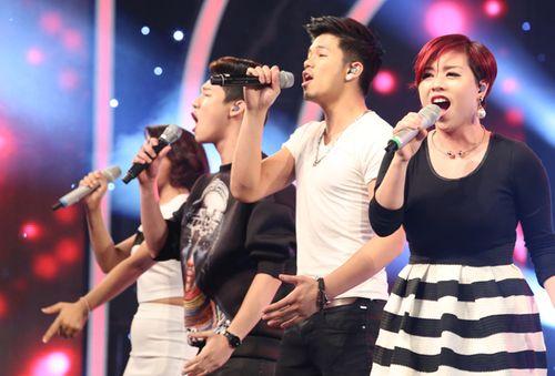 """Diva Hồng Nhung trẻ, sexy """"lấn át"""" thí sinh Vietnam Idol 2015 - Ảnh 3"""