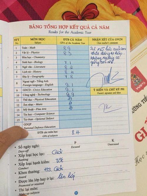 Phương Mỹ Chi nhận giấy khen Học sinh giỏi toàn diện - Ảnh 3