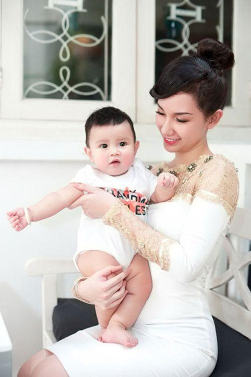 """Quỳnh Chi đã """"giành"""" được quyền nuôi con trai sau ly hôn - Ảnh 1"""