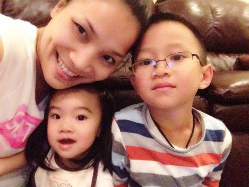 Clip: Con trai ca sĩ Hồng Ngọc học tiếng Việt cực đáng yêu - Ảnh 2