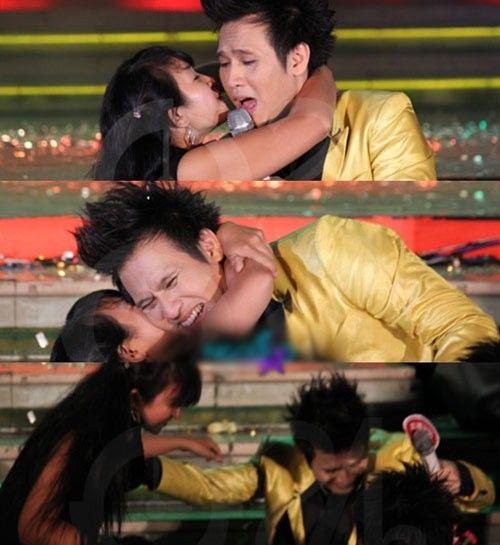 Sao Việt phản ứng thế nào khi bị cưỡng hôn như Kiss Cam? - Ảnh 11