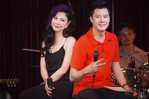 Thanh Thảo mặc gợi cảm, tựa vai Quang Dũng hát tình ca - Ảnh 4
