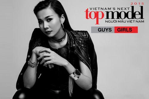 """Thanh Hằng trở lại """"ghế nóng"""" Vietnam's Next Top Model 2015 - Ảnh 1"""