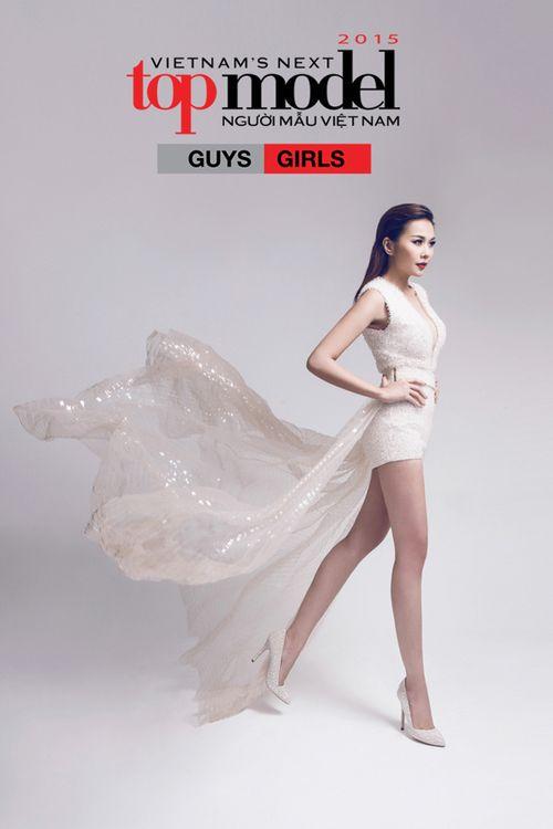 """Thanh Hằng trở lại """"ghế nóng"""" Vietnam's Next Top Model 2015 - Ảnh 2"""