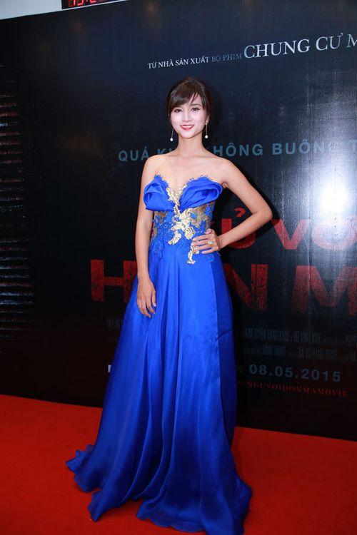 """Sao Việt háo hức xem phim kinh dị """"Ngủ với hồn ma"""" - Ảnh 2"""
