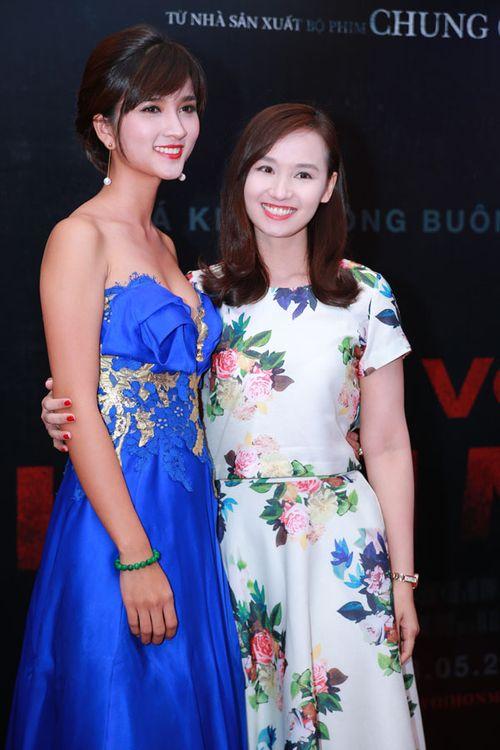 """Sao Việt háo hức xem phim kinh dị """"Ngủ với hồn ma"""" - Ảnh 5"""