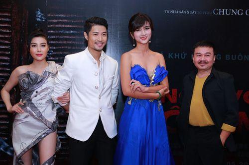 """Sao Việt háo hức xem phim kinh dị """"Ngủ với hồn ma"""" - Ảnh 6"""