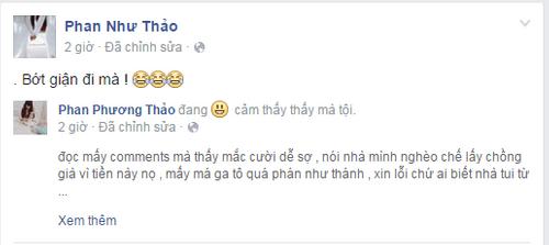 Em gái Phan Như Thảo tức giận với tin chị lấy chồng già vì tiền - Ảnh 4