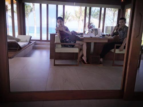 Cận cảnh kỳ nghỉ xa hoa của vợ chồng Thủy Tiên, Công Vinh - Ảnh 5