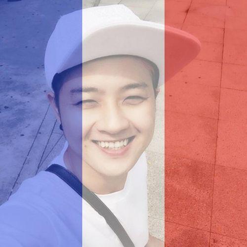 Sao Việt thay avatar cờ Pháp cầu nguyện cho Paris - Ảnh 6