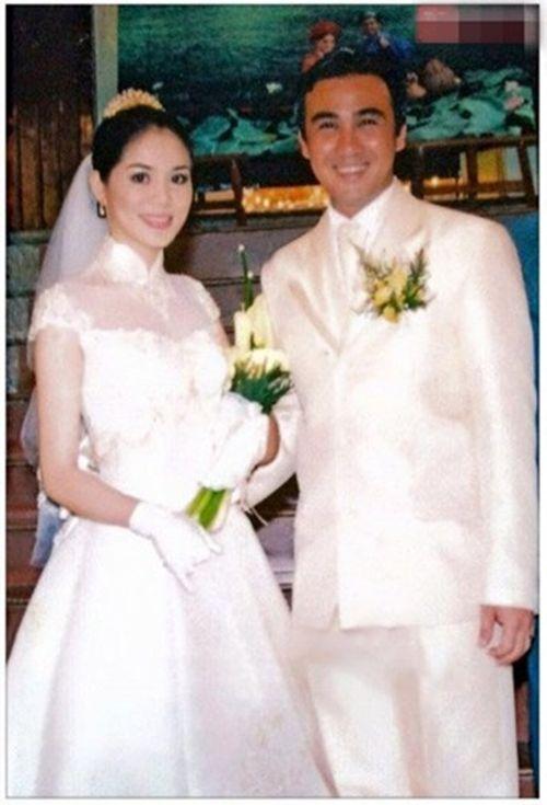 Ảnh cưới đặc biệt và chuyện tình ly kỳ của các sao thập niên 90 - Ảnh 8