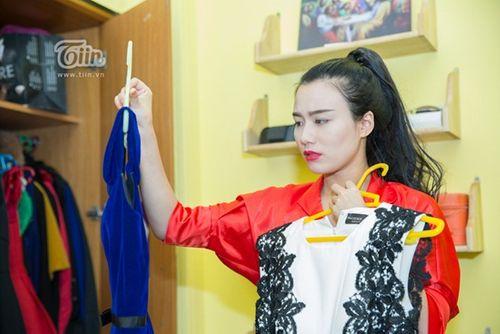 Cận cảnh tủ đồ tiêu tốn hơn 800 triệu đồng của Linh Miu - Ảnh 3