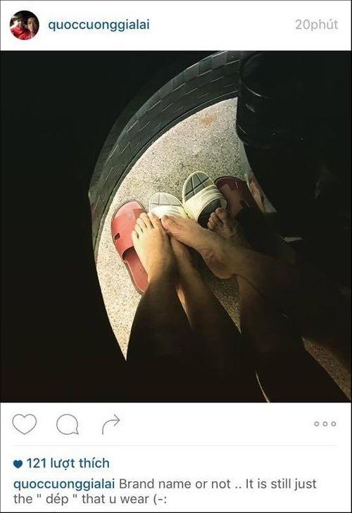 """Cường Đô La - Hạ Vi tiếp tục đăng """"ảnh đôi"""" trên instagram - Ảnh 1"""