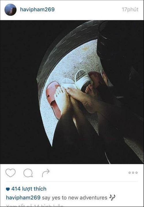 """Cường Đô La - Hạ Vi tiếp tục đăng """"ảnh đôi"""" trên instagram - Ảnh 2"""