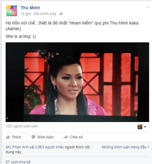 Thu Minh được khen nức lời khi đóng phim - Ảnh 1