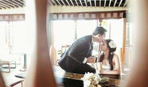 Bộ ảnh cưới đẹp lung linh chưa từng công bố của Duy Nhân - Ảnh 3
