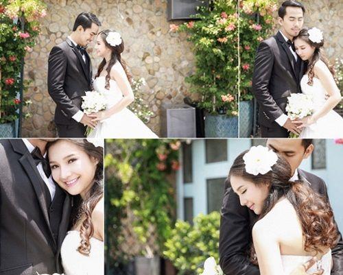 Bộ ảnh cưới đẹp lung linh chưa từng công bố của Duy Nhân - Ảnh 2