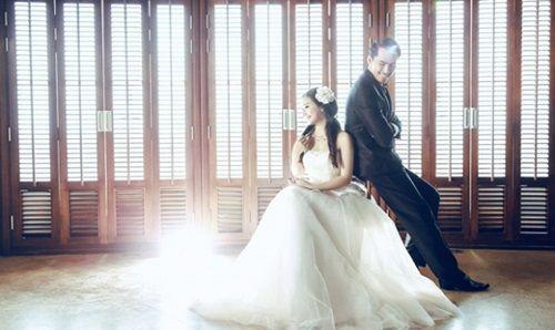 Bộ ảnh cưới đẹp lung linh chưa từng công bố của Duy Nhân - Ảnh 5