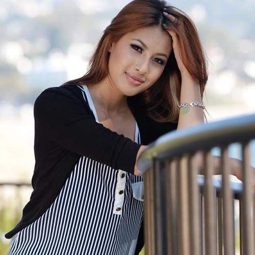 Cận cảnh vẻ gợi cảm sắc sảo của em gái Jennifer Phạm  - Ảnh 3