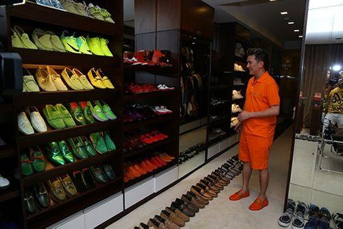 Choáng ngợp trước BST 600 đôi giày hiệu của Đàm Vĩnh Hưng - Ảnh 9