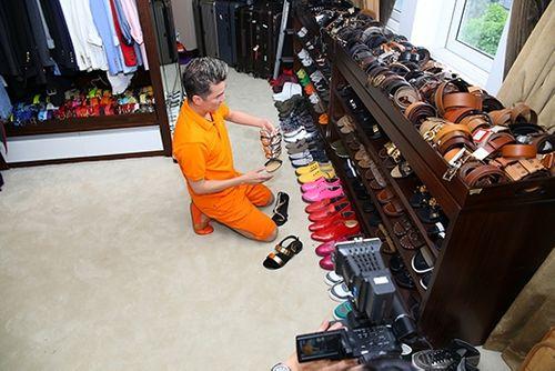 Choáng ngợp trước BST 600 đôi giày hiệu của Đàm Vĩnh Hưng - Ảnh 14