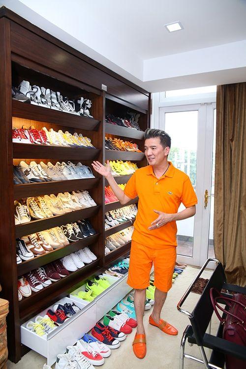 Choáng ngợp trước BST 600 đôi giày hiệu của Đàm Vĩnh Hưng - Ảnh 1