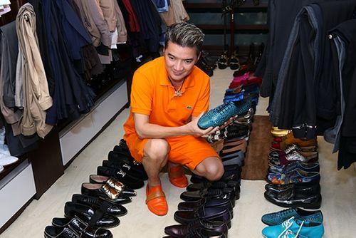 Choáng ngợp trước BST 600 đôi giày hiệu của Đàm Vĩnh Hưng - Ảnh 8