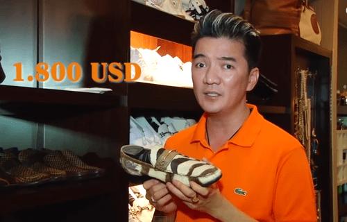 Choáng ngợp trước BST 600 đôi giày hiệu của Đàm Vĩnh Hưng - Ảnh 11