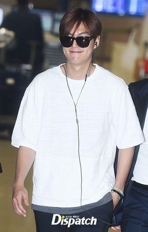 """Lộ ảnh béo ú của """"mỹ nam"""" Lee Min Ho khiến fan thất vọng - Ảnh 1"""