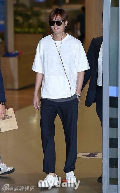 """Lộ ảnh béo ú của """"mỹ nam"""" Lee Min Ho khiến fan thất vọng - Ảnh 2"""