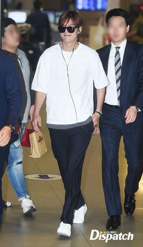 """Lộ ảnh béo ú của """"mỹ nam"""" Lee Min Ho khiến fan thất vọng - Ảnh 3"""