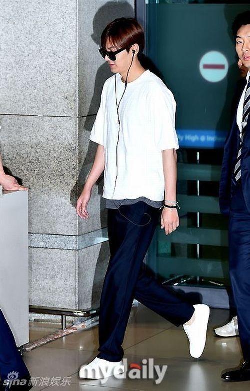 """Lộ ảnh béo ú của """"mỹ nam"""" Lee Min Ho khiến fan thất vọng - Ảnh 5"""