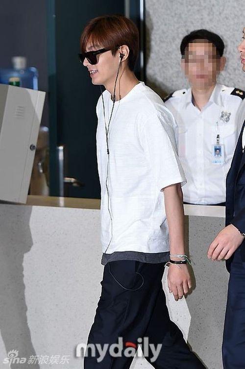 """Lộ ảnh béo ú của """"mỹ nam"""" Lee Min Ho khiến fan thất vọng - Ảnh 6"""