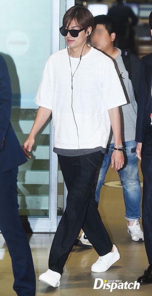 """Lộ ảnh béo ú của """"mỹ nam"""" Lee Min Ho khiến fan thất vọng - Ảnh 8"""