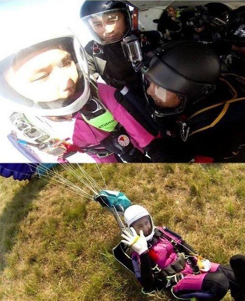 Tìm thấy thi thể sao nữ Hàn tai nạn nhảy dù sau 3 ngày tìm kiếm - Ảnh 2