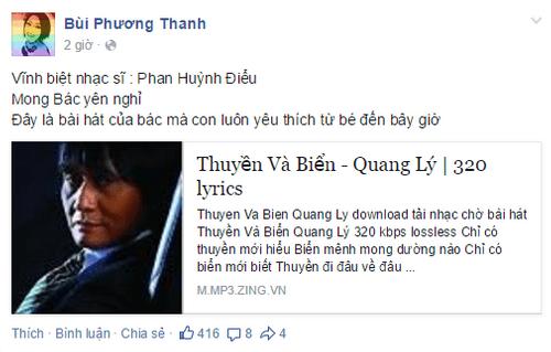 Nghệ sĩ Việt tiếc thương nhạc sĩ Phan Huỳnh Điểu - Ảnh 5