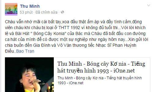 Nghệ sĩ Việt tiếc thương nhạc sĩ Phan Huỳnh Điểu - Ảnh 2