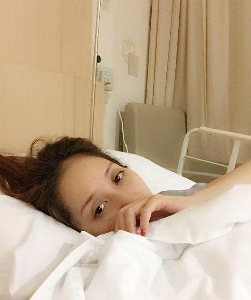 Chồng tin đồn dịu dàng chăm sóc Khánh Thi trong bệnh viện - Ảnh 3