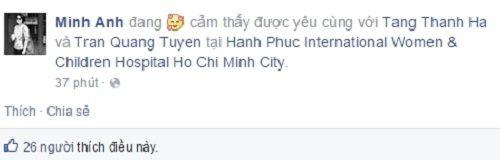 Tăng Thanh Hà đã sinh con trai? - Ảnh 2