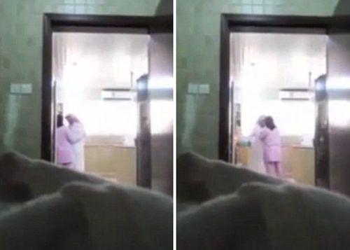 """Con gái đặt camera giám sát phát hiện bố là """"nô lệ"""" của ô sin - Ảnh 2"""