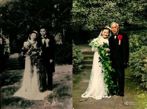 Phát ghen với cặp vợ chồng kỷ niệm ngày cưới lần thứ 70 - Ảnh 1