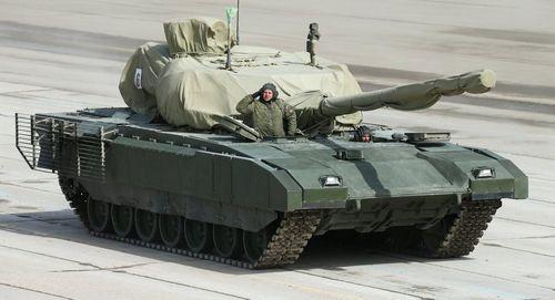 Nga lộ diện xe tăng bí mật hiện đại nhất trong lễ duyệt binh 9/5 - Ảnh 1