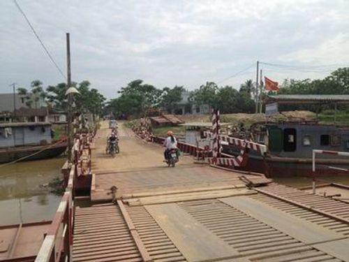 Dừng thu phí 3 cầu phao tại Nam Định, Hải Phòng và Thanh Hóa - Ảnh 1