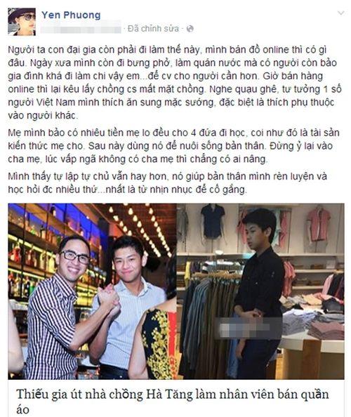 Vợ Lam Trường 'phản pháo' những người dè bỉu cô bán hàng qua mạng - Ảnh 1