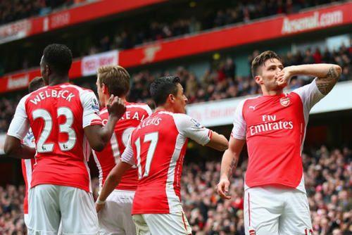 Kịch bản đưa Arsenal lên ngôi vô địch Premier League 2014/15 - Ảnh 1