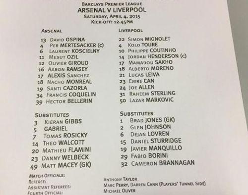 Arsenal 4-1 Liverpool:  Đánh chiếm ngôi nhì - Ảnh 1