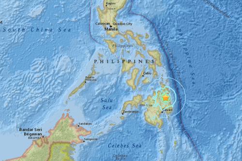 Động đất 6,1 độ richter ở Philippines - Ảnh 1
