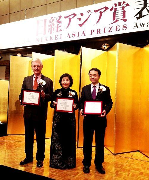 Bà Mai Kiều Liên được vinh danh trong lễ trao giải NIKKEI châu Á  - Ảnh 3