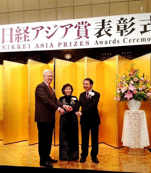 Bà Mai Kiều Liên được vinh danh trong lễ trao giải NIKKEI châu Á  - Ảnh 2